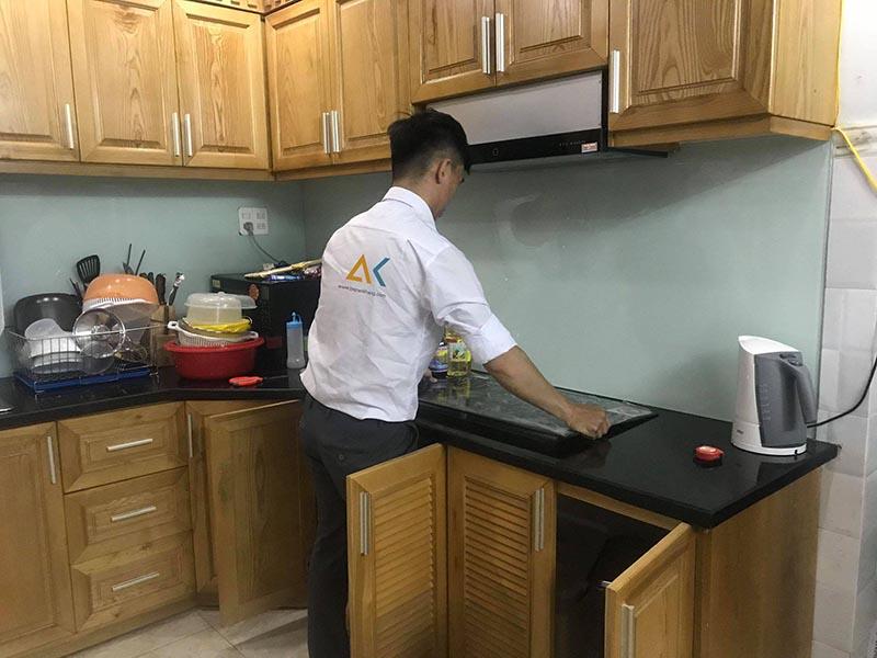 Bếp An Khang lắp đặt tận tình