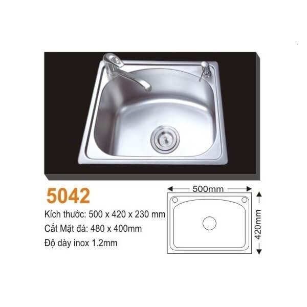 Chậu rửa bát AMTS 5042