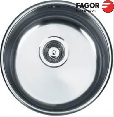 Chậu rửa bát Inox Fagor 2R 1C