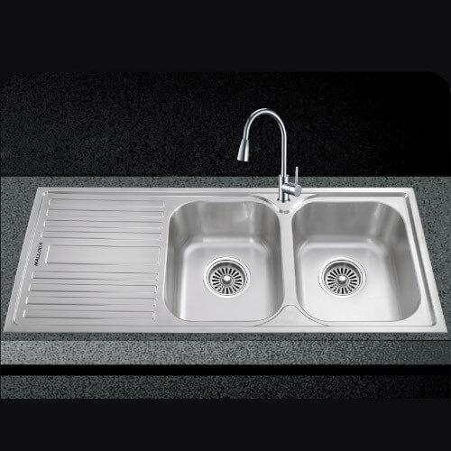 Chậu rửa Malloca MS 1025L New – Cánh trái